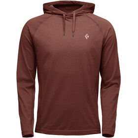 Black Diamond Crag Midlayer Heren, red oxide
